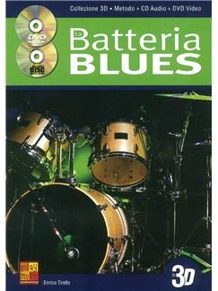 Enrico Tirello: La Batteria Blues En 3D Books, CDs and DVDs / Videos | Drums