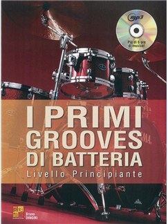 Bruno Dinomi: I Primi Grooves Di Batteria Books and CDs | Drums