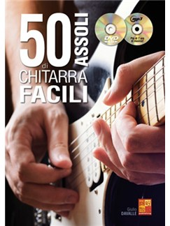 50 Assoli Di Chitarra Facili (Libro/CD/DVD) Books, CDs and DVDs / Videos | Guitar
