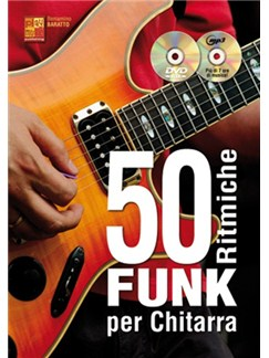 Beniamino Baratto: 50 Ritmiche Funk Per Chitarra (Libro/CD/DVD) Books, CDs and DVDs / Videos | Guitar
