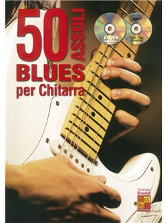 Tommaso Brandelli: 50 Assoli Blues Per Chitarra (Book/CD/DVD) Books, CDs and DVDs / Videos | Guitar