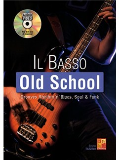 Bruno Tazzino: Il Basso Old School (Libro/DVD) Books and DVDs / Videos | Bass Guitar