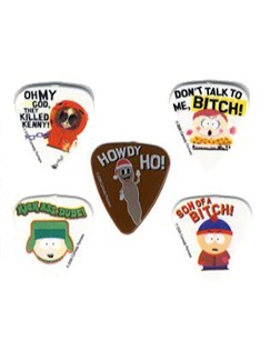 South Park Guitar Picks - Mixed Pack 1 (5 Picks)  | Gitarre