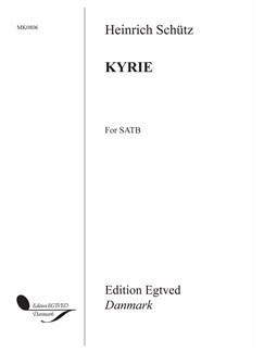 Heinrich Schütz: Kyrie (SATB) Buch | SATB (Gemischter Chor), Chor
