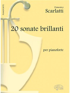 Domenico Scarlatti: 20 Sonate Brillanti, per Pianoforte Books | Piano