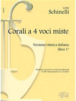 Corali a 4 Voci Miste, Versione Ritmica Italiana - Libro 1 Books | Choral