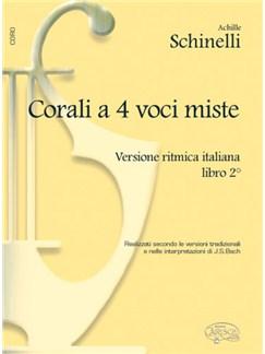 Corali a 4 Voci Miste, Versione Ritmica Italiana - Libro 2 Libro | Coral
