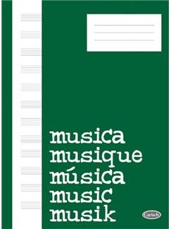 Quaderno Di Musica (Block, Cahier De Musique) Libro | Piano