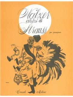 Johann Strauss: Valzer Celebri Books | Piano