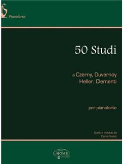 50 Studi di Czerny, Duvernoy, Heller, Clementi Books | Piano