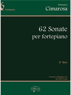 Domenico Cimarosa: 62 Sonate Per Fortepiano - Libro 2 Books | Piano