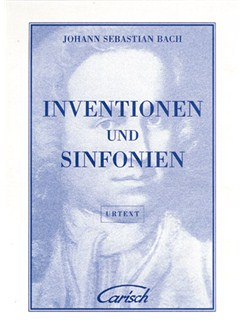 J.S. Bach: Inventionen und Sinfonien, for Cembalo Books | Piano