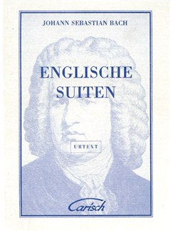 J.S. Bach: Englische Suiten, for Cembalo Books | Piano