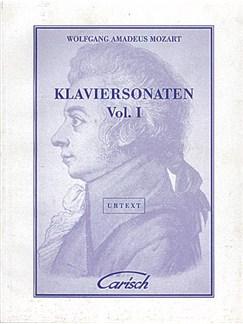 Wolfgang Amadeus Mozart: Klaviersonaten, Volume I Libro | Piano