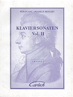 Wolfgang Amadeus Mozart: Klaviersonaten, Volume Ii Livre | Piano