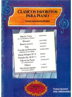 Clásicos Favoritos para Piano No.2 Libro | Piano