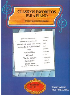 Clásicos Favoritos para Piano No.3 Books | Piano