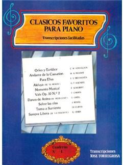 Clásicos Favoritos para Piano No.4 Books | Piano