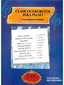 Clásicos Favoritos para Piano No.4 Libro | Piano