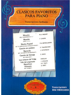 Clásicos Favoritos para Piano No.6 Books | Piano