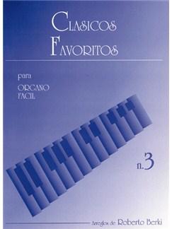 Clásicos Favoritos para Órgano Fácil, Volumen 3 Libro | Organ