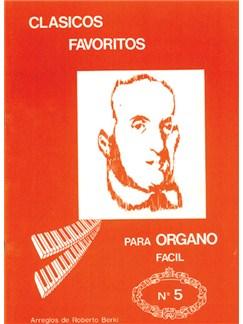 Clásicos Favoritos para Órgano Fácil, Volumen 5 Books | Organ