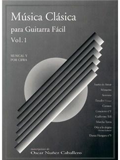 Música Clásica para Guitarra Fácil, Volumen 1 Books   Guitar