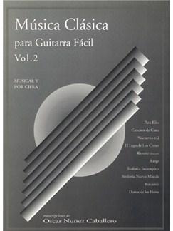 Música Clásica para Guitarra Fácil, Volumen 2 Books | Guitar