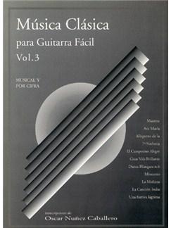 Música Clásica para Guitarra Fácil, Volumen 3 Books | Guitar