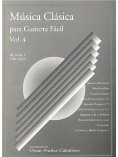 Música Clásica para Guitarra Fácil, Volumen 4 Books | Guitar