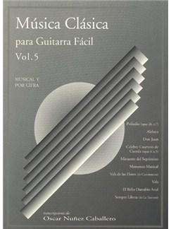 Música Clásica Para Guitarra Fácil, Volumen 5 Books | Guitar