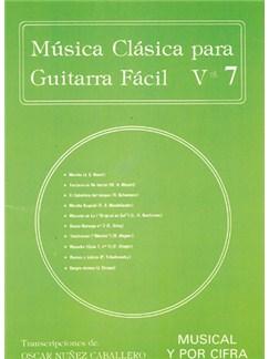 Música Clásica para Guitarra Fácil, Volumen 7 Books | Guitar