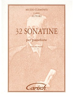 Muzio Clementi: 32 Sonatines, Volume I (1-15), for Piano Livre | Piano