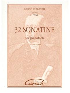 Muzio Clementi: 32 Sonatines, Volume I (1-15), for Piano Libro | Piano