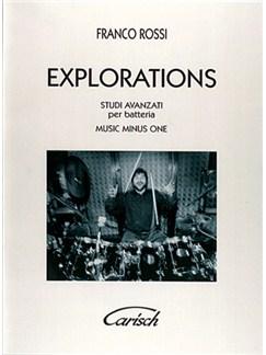 Explorations, Studi avanzati per batteria Books and CDs   Drums