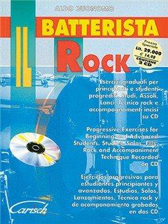 Il Batterista Rock CD y Libro | Batería