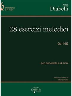 Anton Diabelli: 28 Esercizi Melodici, Op.149, per Pianoforte a 4 Mani Books | Piano Duet