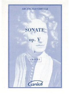 Arcangelo Corelli: Sonate Op.V, Volume I, for Violin and Continuo Books | Violin