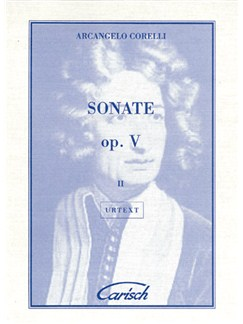 Arcangelo Corelli: Sonate Op.V Volume II, for Violin and Continuo Livre | Violon