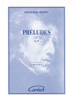 Fryderyk Chopin: Préludes Op.28 For Piano Books | Piano