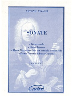 Antonio Vivaldi: Sonate, for Flute and Continuo Libro | Flauta