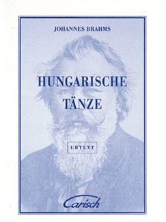 Johannes Brahms: Hungarische Tänze, for Piano Livre | Piano