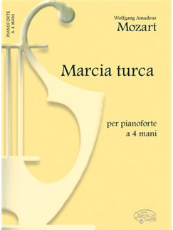 Mozart Marcia Turca Pf4hnds Bk Books  
