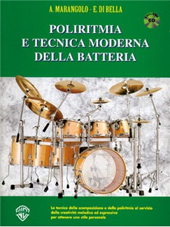 Poliritmia e Tecnica Moderna della Batteria Books and CDs | Drums