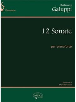 Baldassarre Galuppi: 12 Sonate per Pianoforte Livre | Piano
