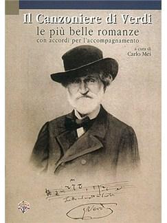 Giuseppe Verdi: Il Canzoniere di Verdi, Le Più Belle Romanze Libro | Textos y Acordes