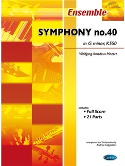 Wolfgang Amadeus Mozart: Symphony No.40 in G Minor, K 550 Books | Ensemble