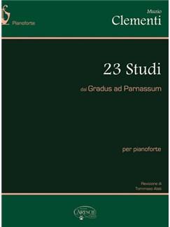 Muzio Clementi: 23 Studi dal Gradus Ad Parnassum Bog | Klaver solo