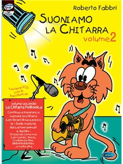 Roberto Fabbri: Suoniamo La Chitarra - Volume 2: La Chitarra Polifonica (Book/CD) Books and CDs | Guitar