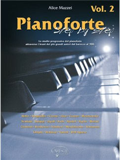 Pianoforte Step By Step, Volume 2 Books | Piano